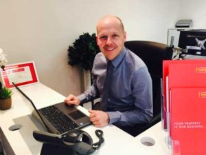Rob Butters and VOIP Telephone Installed By Vostro Ltd