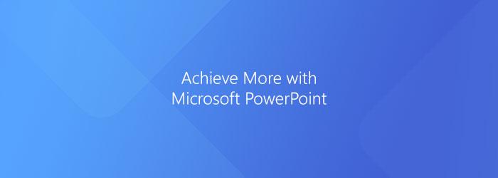Microsoft PowerPoint: Slide Sorter