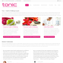 Tonic Health and Wellbeing
