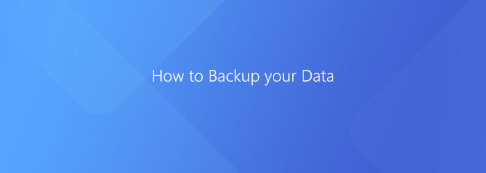 How to Backup your Data